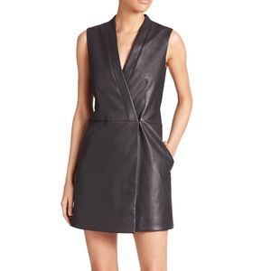 BCBG Leather Vest/Dress